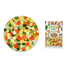 小さめのカットをしたイタリア産のみを使用したグリル野菜 ランキングTOP5 冷凍 カゴメ 1kg 付与 田舎風野菜ミックス