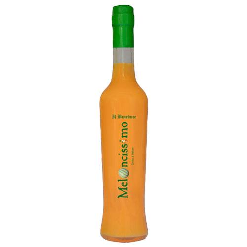 南イタリア カンパーニャより届いた天然の素材にこだわって作ったメロンリキュール よりどり6本以上 送料無料 メロンチ クレマ アル ご予約品 メローネ 375ml ついに入荷 Il Crema al Beneduce メロンチッシモ Melone