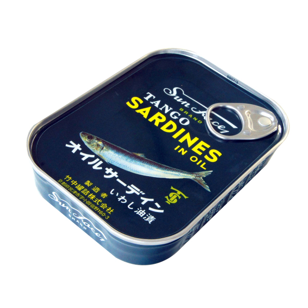 缶詰ですので常温にて長期保存が可能です 値引き TANGO サンフェース オイルサーディン缶丹後 オイルサーデン缶 配送員設置送料無料 105g いわし油漬