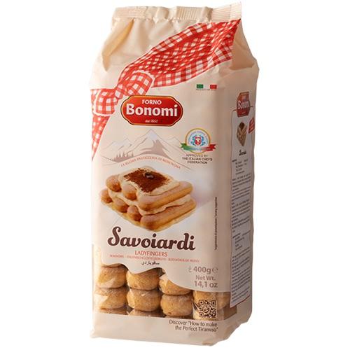 本場イタリア産 ティラミスにおすすめ ボノミ サボイアルディ 400g Bonomi フィンガークッキー 専門店 クリアランスsale!期間限定! Savoiardi サヴォイアルディ