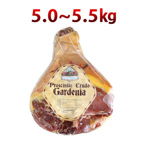 【冷蔵】【送料無料】約5.0~5.5kg Fior di Maso社 イタリア産プロシュット 骨なし 生ハム原木 ボンレス 【05P03Nove15】