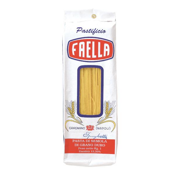 【送料無料】【同梱不可】箱売り ファエッラ Faella スパゲッティ・クラシコ 1.8mm 1kg×12袋