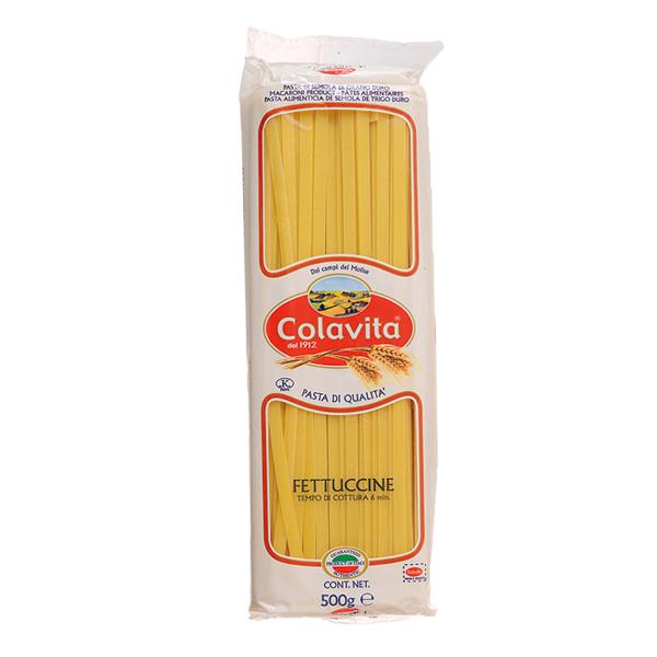 イタリア産小麦100%のもちもちとした食感が特徴のパスタです Colavita コラヴィータ コラビータ 限定モデル フェットチーネ 500g 正規取扱店