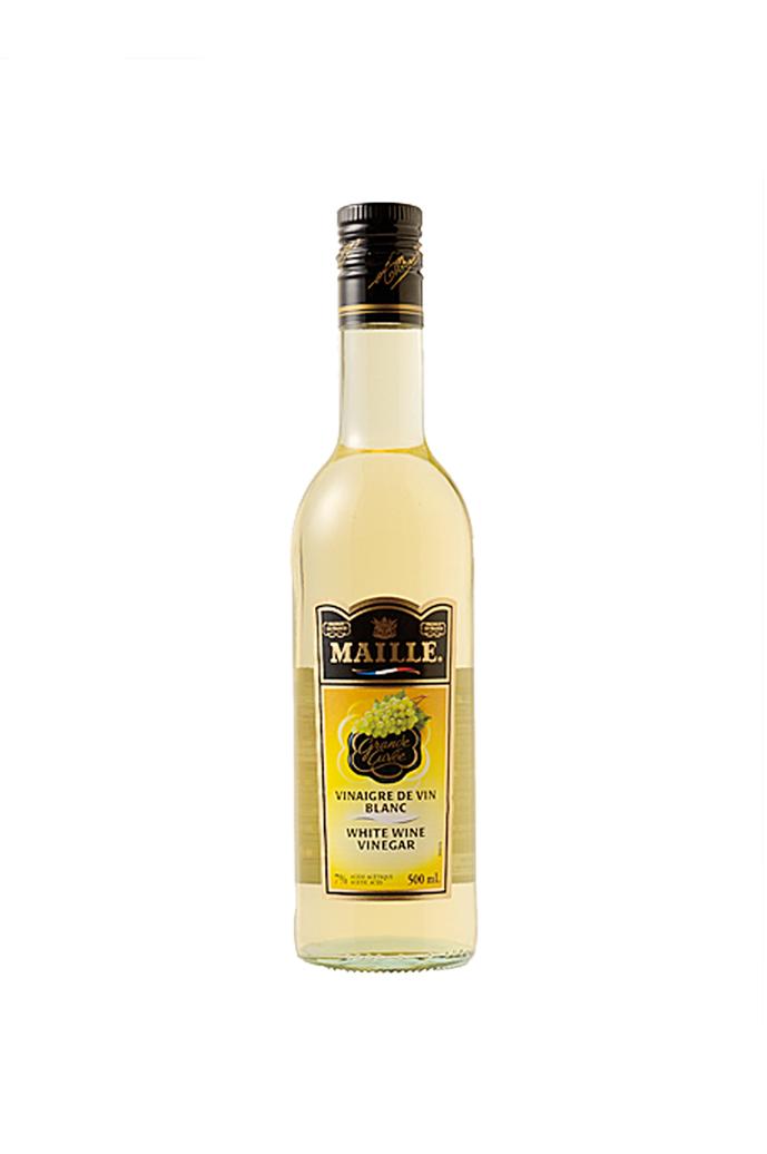 マイルドでさわやかな風味と酸味が特徴です マイユ ※アウトレット品 白ワインヴィネガー 500ml 白ワイン 爆安プライス ビネガー