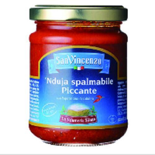 イタリア カラブリアの名産品 うま味調味料としてお使いいただけます サンビチェンゾ ンドゥイヤペースト 祝開店大放出セール開催中 185g ピッツァ カラブリア ソース パスタ ピザ 新生活 調味料