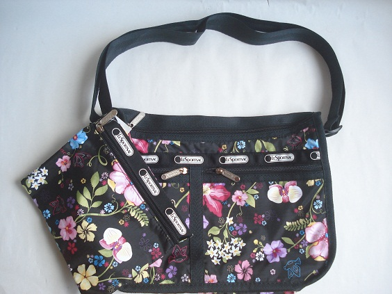 9eec0aa0dc (LeSportsac) lesportsac Deluxe everyday bag (deluxe everyday bag) tropical  floral (floral tropical) DFS Hawaii limited edition