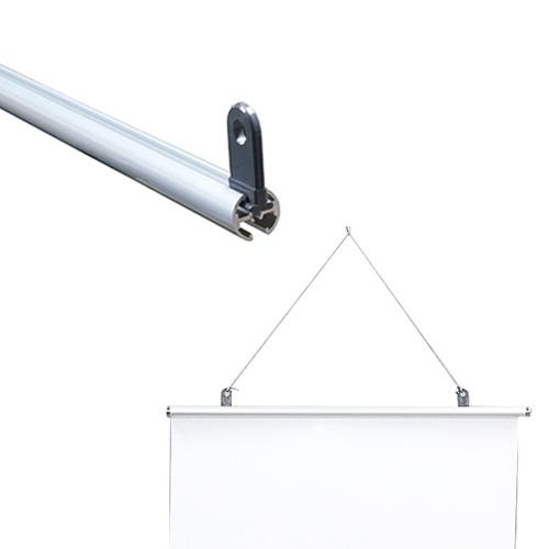 タペストリーバー 直径15mm用 吊り具単品 ※バーは別売りです
