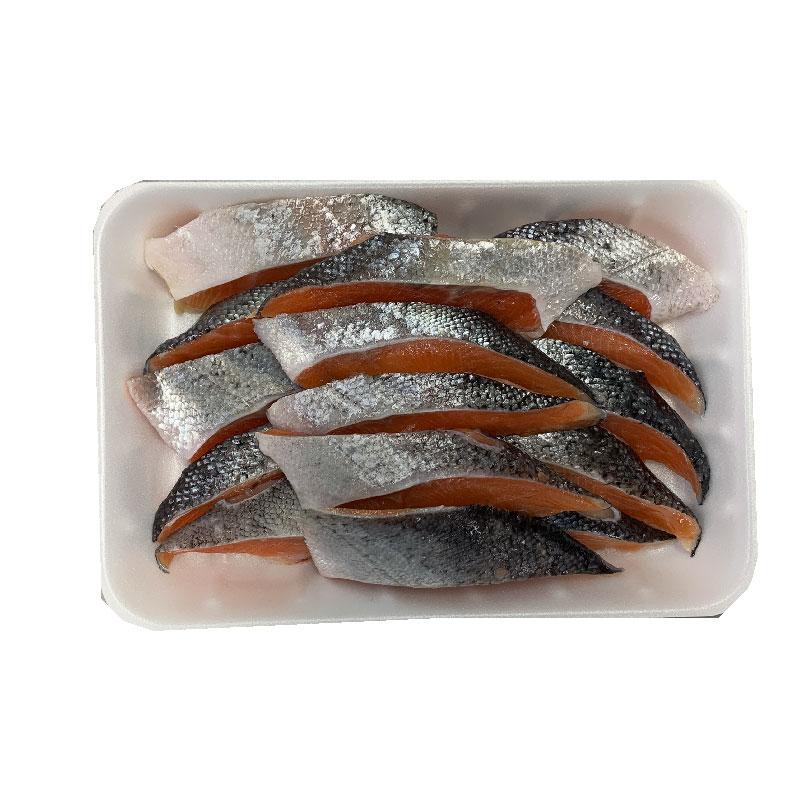 訳アリの理由 サイズが満たなかった 商い 尾っぽあたり だから格安でお弁当に最適 商品は画像そのまま 訳あり 鮭 さけ 30切 お弁当に最適 サケ 直営店 15切を2袋 トラウトサーモン 約30g 切身
