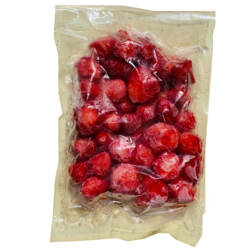 甘い完熟の越後姫イチゴを丸ごと冷凍しました 冷凍 越後姫 完熟 いちご ホール 在庫処分 500g×2袋 糖度高い イチゴ 期間限定で特別価格 苺 池田観光農園 新潟産 甘い