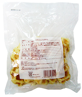 ベルギーワッフルS焼成品180g(10個) 日本リッチ 洋菓子・デザート用品 洋菓子 【冷凍食品】【業務用食材】【10800円以上で】