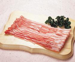 豚バラスライス500g 輸入 豚 生肉類 【冷凍食品】【業務用食材】【10800円以上で】