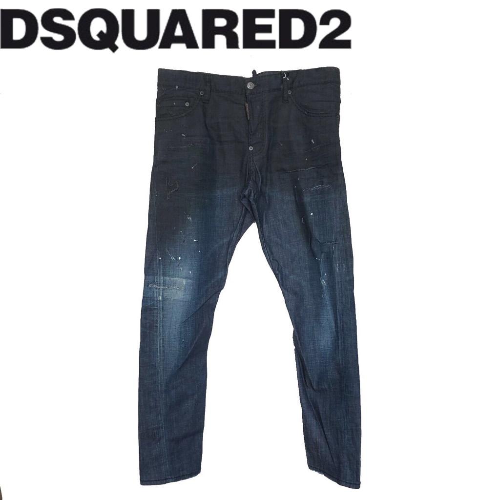 【新品】確実正規品 DSQUARED2 ディースクエアード SEXY TWIST JEAN セクシー ツイスト ジーンズ TG50 Lサイズ メンズ