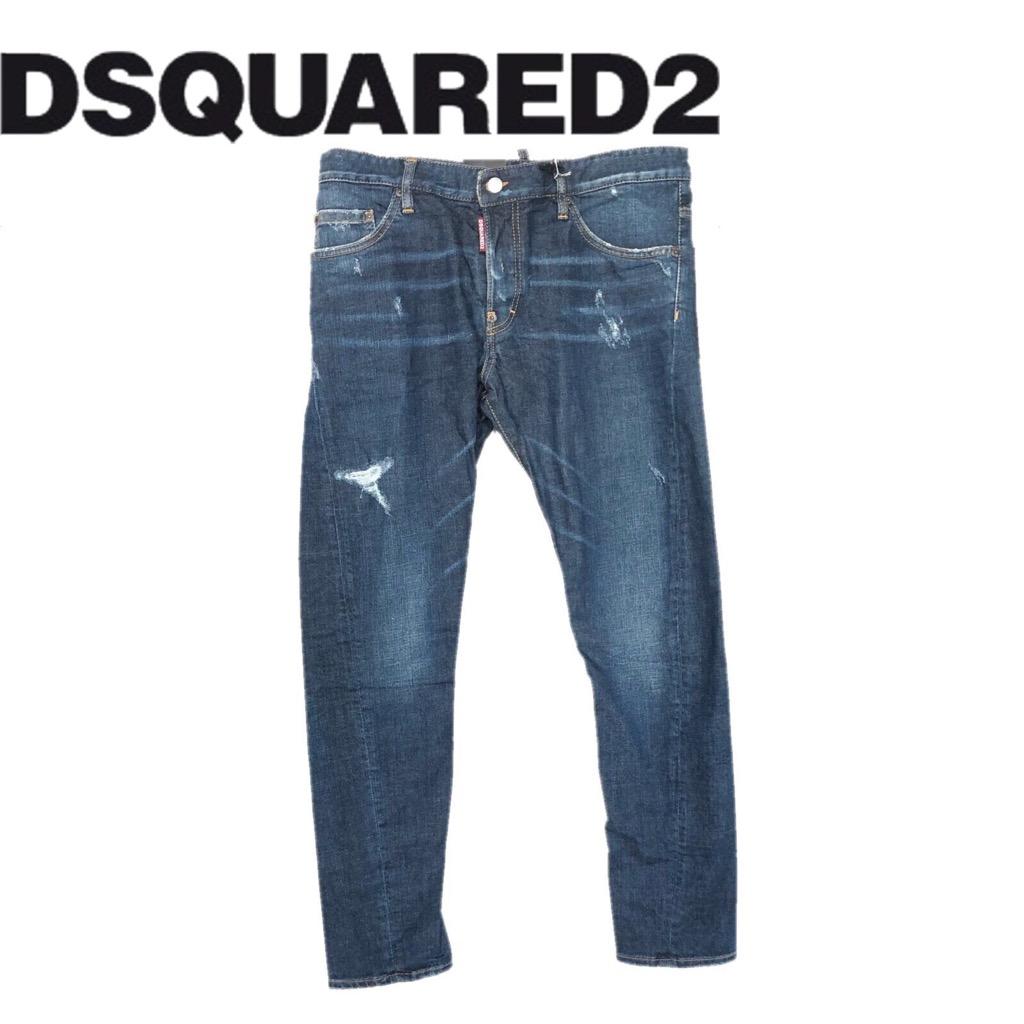 【新品】確実正規品 DSQUARED2 ディースクエアード M.B.JEAN TG50 Lサイズ メンズ