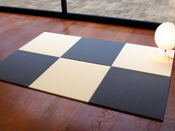 おくだけカラー畳(国産和紙畳表/琉球畳風)3枚セット※別注サイズはメールでお問い合わせ下さい日本製 送料無料