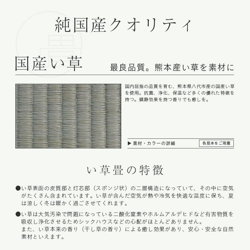 送料無料イ草 い草 システム畳 [MARTH] ラグ (畳2枚1セット) 畳 置き畳フローリング畳 マース 1年間保証 ユニット畳 サイズ 引目織り/ 約140cm×200cm×厚さ3.5cm国産い草畳/ 縁付き畳日本製