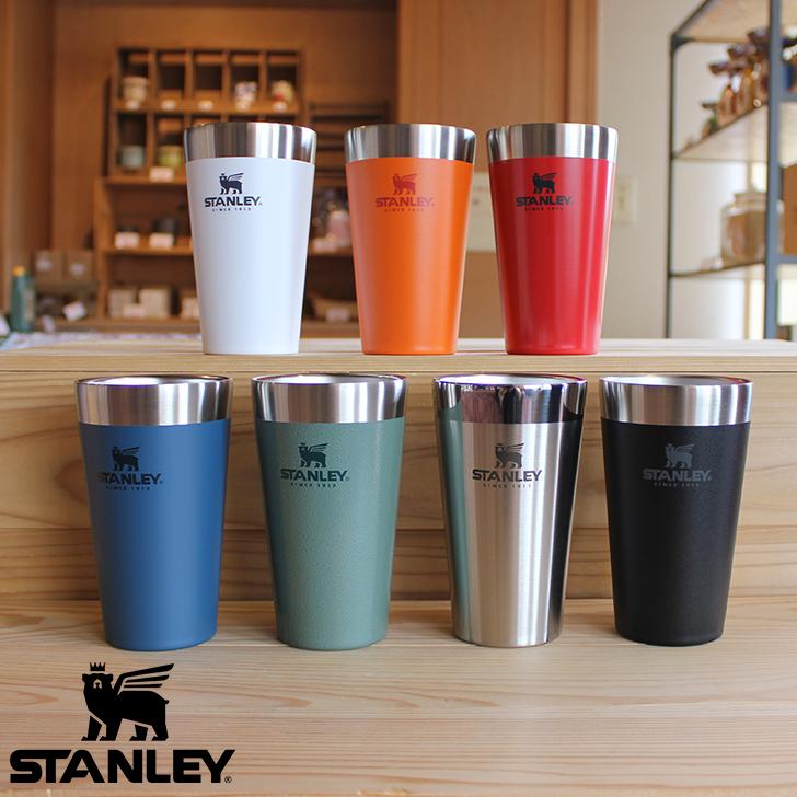 【正規販売店】保温保冷に優れたタンブラー スタンレー STANLEY スタッキング 真空パイント 0.47L 02282 水筒 アウトドア キャンプ タンブラー