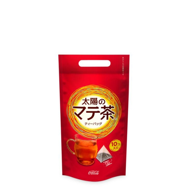 【送料無料】 コカ・コーラ 太陽のマテ茶情熱ティーバッグ 2.3gティーバッグ(10個入り) 24入 南米生まれ*の飲みやすい無糖茶。香ばしく、すっきりした後味だから、肉料理や脂っこい料理にピッタリ。 【コカコーラからお客様へ直接お届けします】【代引不可】