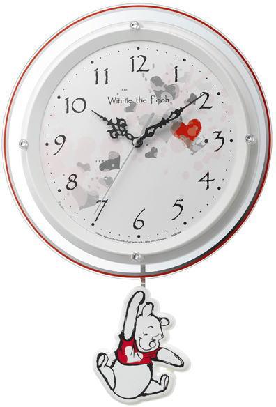 送料無料!くまのプーさん 振子掛時計新築祝い 開店祝い 事務所開き祝い 記念品 お祝い 結婚祝い 入学祝い 進学祝い 贈答品 プレゼント 誕生日プレゼント ギフト 子供部屋 インテリアにもおすすめです。