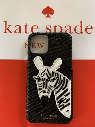 ケース ビーデッド ケイトスペード 8ARU6736【日本在庫・即発送】 Kate 11 アイフォン ゼブラ ケース iphone11 spade アイフォン11 iphone