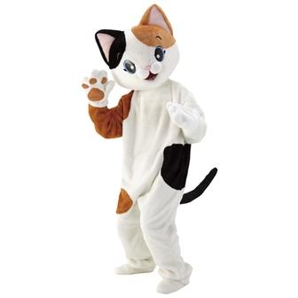 【送料無料】動物着ぐるみ きぐるみ ねこ ネコ 猫    イベント 販促品 景品 学校行事 コスプレ パーティグッズ