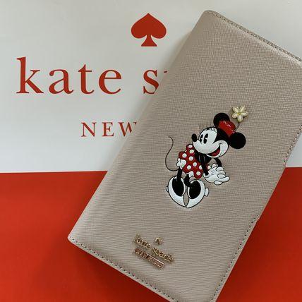 ケイトスペード Kate spade 手帳型 アイフォンケース iphone 11pro ミニーマウス アップリケ フォリオ アイフォーンケース iPhone 11 PRO