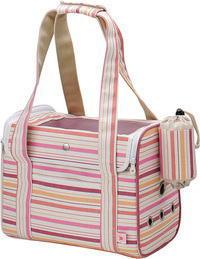 マルカン うさぎのおでかけバッグ【ピンク】 MR-273 取り外して丸洗いできるプラスチック製スノコ&トレイ付