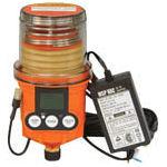 パルサールブ  M 125cc  DC外部電源型モーター式自動給油機(グリス空)MSP125/MAIN/VDC (490-5946)