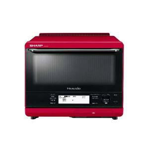 【送料無料】シャープ ウォーターオーブンレンジ ヘルシオ AX-XS500-R レッド系 30L