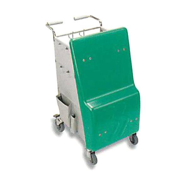 【メーカー直送 代引不可】セイワ マイクロカート(緑) MW-100-4