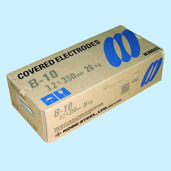 神戸製鋼 溶接棒 B-10 3.2Φ 1箱(5kg X 4箱入り)【B-10】写真は代表画像になります。ご了承下さい。