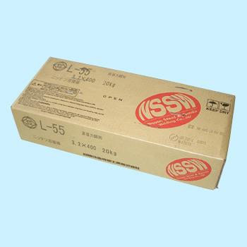 【あす楽】日鐵住金溶接 溶接棒 L55 4.0mm 20kg 【L55】*注意写真は、代表画像です。ご了承ください。