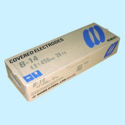 神戸製鋼 溶接棒 B-14 4.5Φ 1箱(5kg X 4箱入り)【B14】写真は代表画像になります。