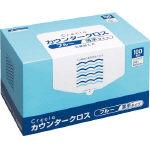 【送料無料】クレシア カウンタークロス 薄手タイプ ブルー 65433 493-0096