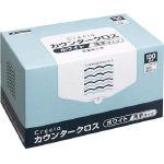 【送料無料】クレシア カウンタークロス 薄手タイプ ホワイト 65402 470-5173