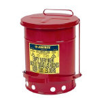 【送料無料】ジャストライト オイリーウエスト缶 6ガロン J09100 472-9242