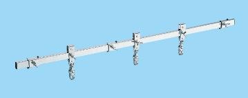 【代引き不可】 重量セルワーク作業台用オプション・スライドレール CL-900S