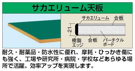 【代引き不可】 中量用天板 CS-1875FTC