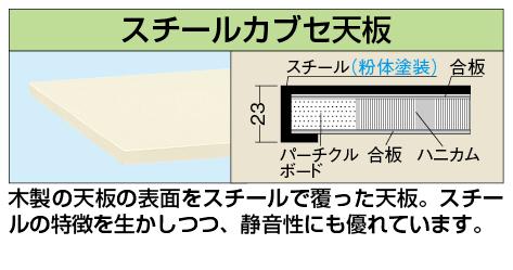 【代引き不可】 カブセ天板 KK-1275CTCI