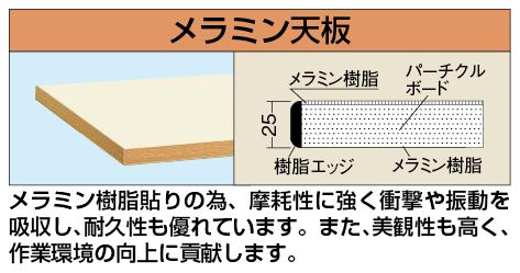 【代引き不可】 中量用天板 KT-1590MTCI