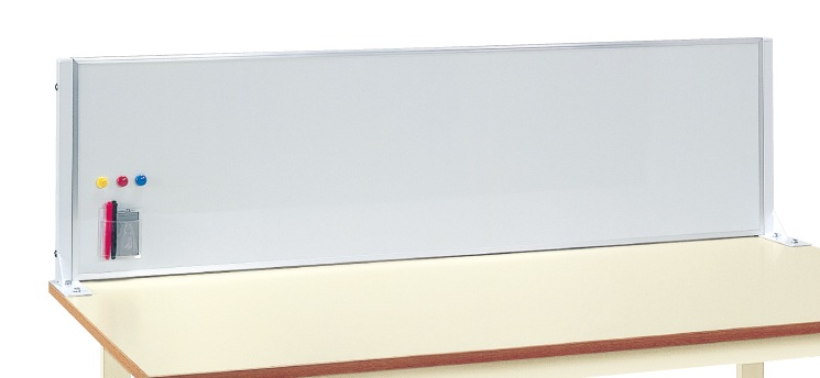 【代引き不可】 作業台用ホワイトボード KWP-15WP