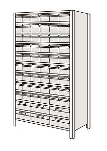 【代引き不可】 物品棚LEK型樹脂ボックス LEK1112-33T