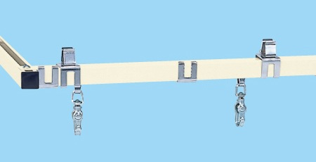 【代引き不可】 ラインシステム用オプション・スライドレール LS-1200S