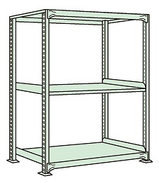 簡単ボルトレス構造なので組立て 中板移動 贈答品 解体が間単に出来ます 中軽量棚MLW型 激安格安割引情報満載 代引き不可 MLW8523