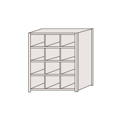 【】 区分棚 フラットタイプ NCA711-304:激安工具のタツマックスメガ