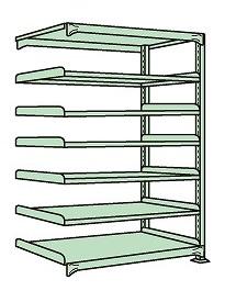 簡単ボルトレス構造なので組立て 中板移動 解体が間単に出来ます 完全送料無料 代引き不可 限定Special Price 軽中量棚 ND-3517R