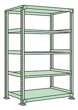 簡単ボルトレス構造なので組立て お気にいる 中板移動 解体が間単に出来ます 中軽量棚NE型 訳あり 代引き不可 NE-1745