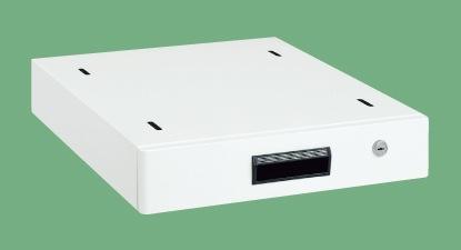 【代引き不可】 作業台用オプションキャビネット(パールホワイト) NKL-10WC
