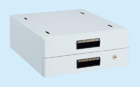 【代引き不可】 作業台用オプションキャビネット NKL-S20GLB