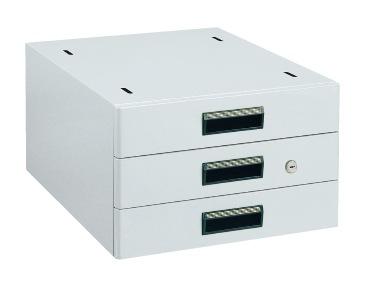 【代引き不可】 作業台用オプションキャビネット NKL-S30GLC