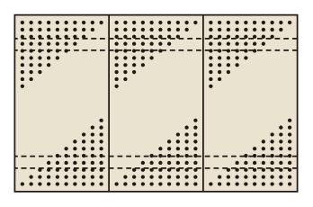 【代引き不可】 パンチングウォールシステム PO-453LN